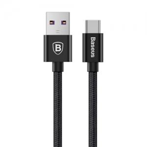 電材堂 USBケーブル USB-Type-C CQ対応 ブラック DCATKC-01