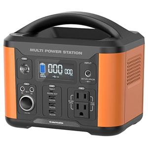 多摩電子工業 ポータブル電源 充電式 容量202Wh AC・USB・DCソケットポート搭載 TL108OR