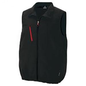 アイトス 空調服™ 《TULTEX®モデル》 ベストタイプ 3Lサイズ ブラック AZ-50196-010-3L