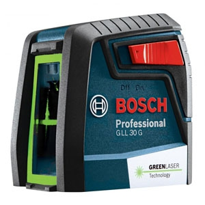 BOSCH クロスラインレーザー 《BB-Proシリーズ》 電池式 キャリングバッグ付 GLL30G
