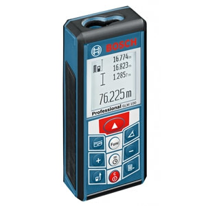 BOSCH レーザー距離計 充電式 キャリングバッグ付 GLM100