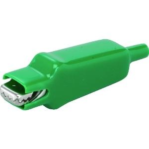 中発販売 スタークリップ DC500V 1000MΩ以上 10A ビニールカバー付 緑 SCSV10AG