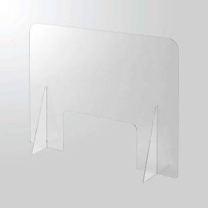 ELECOM アクリルパーティション 1面タイプ 窓あり PSI-PTAR01CR