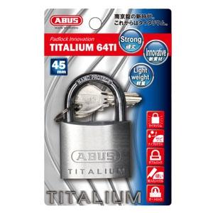 ABUS 【ケース販売特価 5個セット】タイタリウム 64TIシリーズ ブリスターパック 45KD BP-64TI/45KD