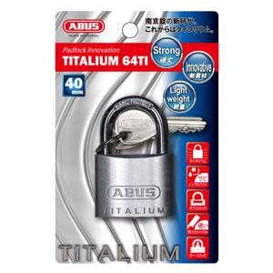 ABUS 【ケース販売特価 5個セット】タイタリウム 64TIシリーズ ブリスターパック 40KD BP-64TI/40KD
