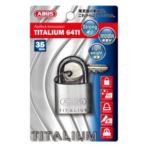 ABUS 【ケース販売特価 5個セット】タイタリウム 64TIシリーズ ブリスターパック 35KD BP-64TI/35KD