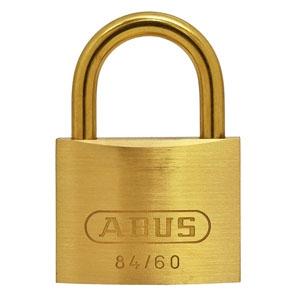ABUS 【ケース販売特価 5個セット】真鍮南京錠 84MBシリーズ ブリスターパック 60mm BP-84MB/60