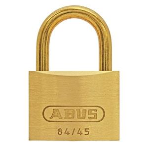 ABUS 【ケース販売特価 5個セット】真鍮南京錠 84MBシリーズ ブリスターパック 45mm BP-84MB/45