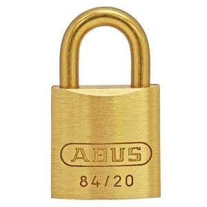 ABUS 【ケース販売特価 5個セット】真鍮南京錠 84MBシリーズ ブリスターパック 20mm BP-84MB/20