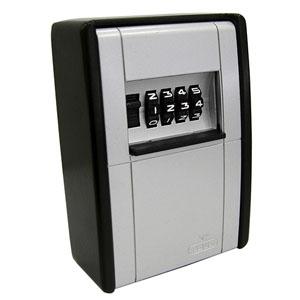 ABUS 【ケース販売特価 12個セット】カードとカギの預かり箱面付 壁固定タイプ 4桁可変式 AB-KG2-B