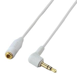 ELECOM ヘッドホン延長コード 長さ3m ホワイト EHP-CT23G/30WH