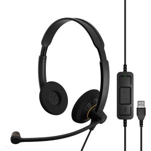 ゼンハイザー EPOS 両耳有線USBヘッドセット SC60USBML