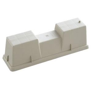 関東器材 【ケース販売特価20台セット】室外機置台 《化粧ブロック》 370mm 高さ125mmタイプ LB-370H_set