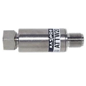 マスプロ 減衰器(アッテネーター) 屋内用 シールド型 20dB 3224MHz対応 ATTW20