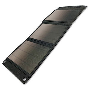多摩電子工業 ソーラー充電器 18W 折り畳み式 TSK92K