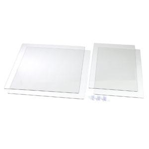 アーテック 飛沫防止十字型卓上パーテーション 長方形タイプ 両面保護フィルム付 051229