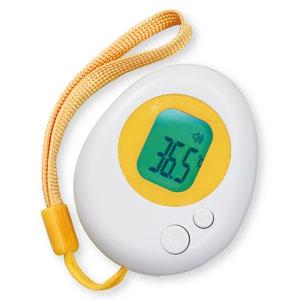 アーテック 携帯用非接触検温計 《温たま》 電池式 ストラップ付 051403