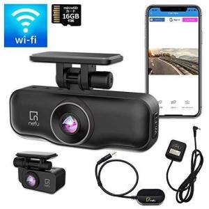 ティービーアイ Wi-Fi内蔵前後2カメラタイプ ドライブレコーダー PLABO
