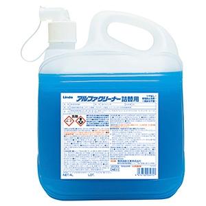 横浜油脂工業 【ケース販売特価 2個セット】多目的洗浄剤 《アルファクリーナー》 詰替用 濃縮タイプ 4L 3075