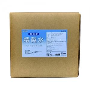 ヤザワ 高純度精製水 純水 精製水 コック付き 内容量18L 高純度精製水 内容量18L SSS18L 画像2