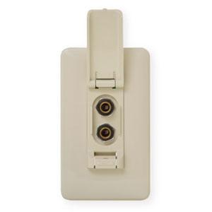 オースミ電機 絶縁マイクコンセント カラオケ用埋込形 OE-6003