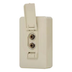 オースミ電機 絶縁マイク中継ボックス カラオケ用露出形 OE-7013