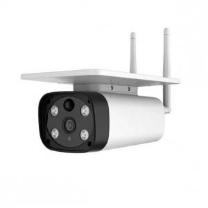 足立商事 SDカード録画防犯カメラ ダイレクト接続対応ソーラーIPカメラ ADS-WF520SL