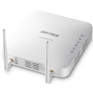 バッファロー エアステーション プロ インテリジェントモデル PoE対応 11ac/n/a&11n/g/b 866+400Mbps 無線LANアクセスポイント WAPM-1266R