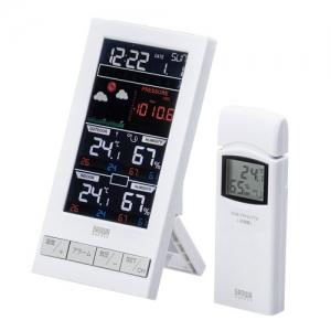 サンワサプライ ワイヤレス温湿度計(受信機1台+送信機1台) CHE-TPHU7