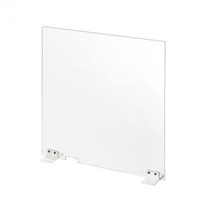 サンワサプライ 飛沫感染防止用卓上パーティション(透明アクリル・幅60cm) SPT-DP102C