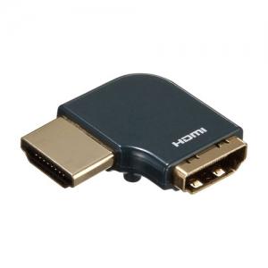 サンワサプライ HDMIアダプタ L型(左) AD-HD22LYL