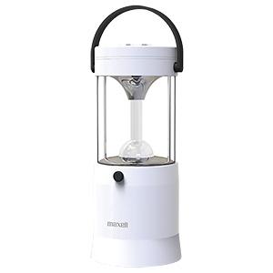 マクセル LEDランタン 《MIZUSION》 連続点灯約80時間 パワーバー付 MS-T210WH