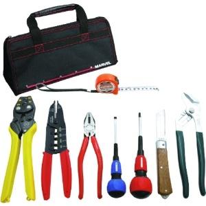 マーベル 電気工事士 技能試験工具セット 標準工具+VA線ストリッパーセット MDKS-17VA
