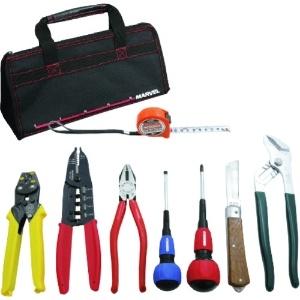 マーベル 電気工事士 技能試験工具セット 標準工具+VA線ストリッパーセット MDKS-7VA