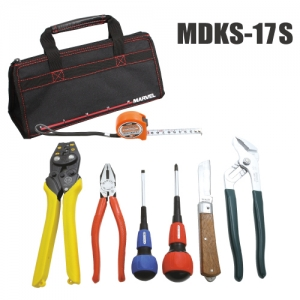 マーベル 電気工事士 技能試験工具セット 標準工具+VA線ストリッパーセット MDKS-17S