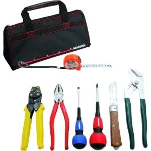 マーベル 電気工事士 技能試験工具セット 標準工具+VA線ストリッパーセット MDKS-7S