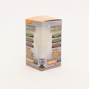 ヒロコーポレーション 【Natulux】LED電球 一般電球形 60W形相当 電球色 口金E26 密閉型器具対応 LED電球 一般電球形 60W形相当 電球色 口金E26 密閉型器具対応 HDK-60EL 画像5