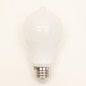 ヒロコーポレーション 人感センサー機能付LED電球 一般電球形 60W形相当 昼光色 口金E26 人感センサー機能付LED電球 一般電球形 60W形相当 昼光色 口金E26 HJK-60EL 画像2