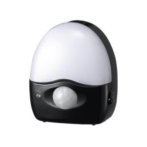 ヤザワ 【売り尽くし特価】3LEDミニ赤外線センサーライト3灯ブラック SE40BK