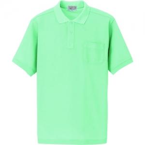 アイトス 半袖ポロシャツ(男女兼用) ミントグリーン 3S AZ76150053S