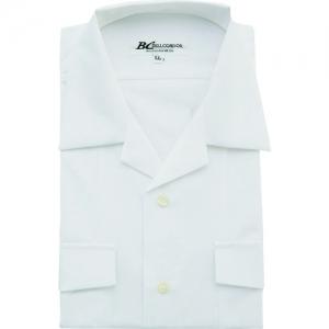 アイトス 開衿シャツ(T1000) ホワイト LL AZ43045001LL