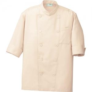 アイトス コックシャツ(男女兼用) ベージュ LL AZ861221002LL