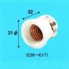 アサヒ 【ケース販売特価 10個セット】E26→E17 ソケット変換アダプター 白 181500_asahi_set