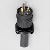 アメリカン電機 防水形プラグ 引掛形 接地形2P 20A 125V 圧着端子式・引締式 ゴムカバータイプ NEMA(L5-20)規格 3212RW-L5