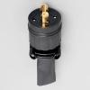 アメリカン電機 防水形プラグ 引掛形 2P 30A 250V 圧着端子式 ゴムカバータイプ 2322RW
