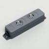 アメリカン電機 ダブルタップ™ 引掛形・2ヶ口 接地形2P 20A 125V 圧着端子式 NEMA(L5-20)規格 3213NT-L5
