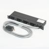 アメリカン電機 1Uコンセントバー IEC C-19・4ヶ口 接地形2P 30A 250V 30A(NEMA L6-30)入力プラグ/20A出力コンセント 20Aサーキットプロテクター付 1Uコンセントバー IEC C-19・4ヶ口 接地形2P 30A 250V 30A(NEMA L6-30)入力プラグ/20A出力コンセント 20Aサーキットプロテクター付 HKC2920PT 画像1