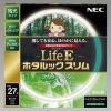 NEC 環形蛍光灯 《ホタルックスリム Life E》 高周波点灯専用 27W形 残光タイプ 昼白色 FHC27EN-LE-SHG