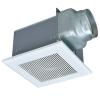 三菱 CO2センサー搭載ダクト用換気扇 風圧式 インテリア格子タイプ 居間・事務所・店舗用 羽根径18cm 接続パイプφ150mm 24時間換気機能付 VD-18ZAGVX5-C